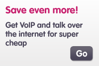 Get VoIP and have the benefit of an extra line for no cost