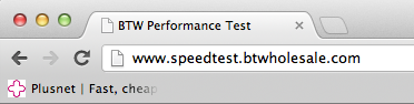 Speedtester Address