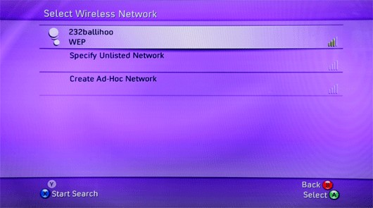Choose Wireless Network
