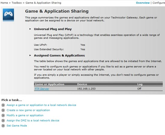 Game & Application