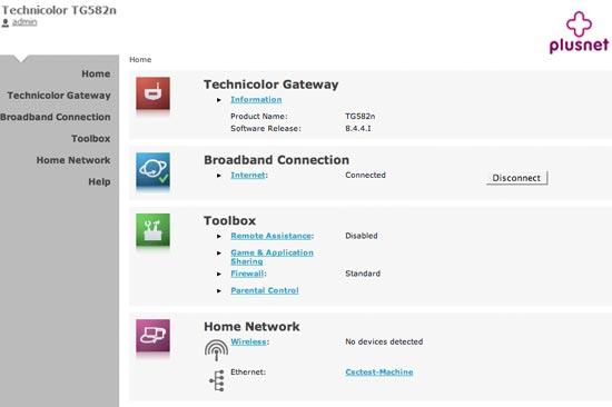 technicolor ip address