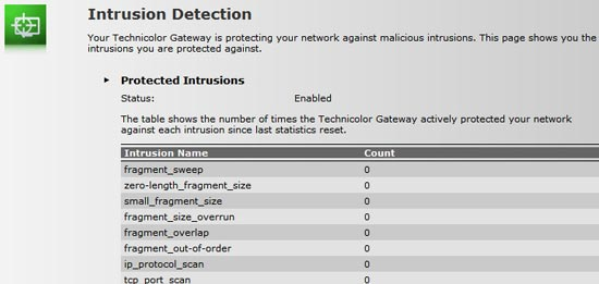 The Intrusion detection logs.