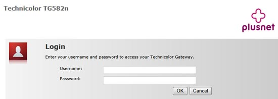 You'll be asked for a username and password. Use the Router Username and Router Password (as per question 2).