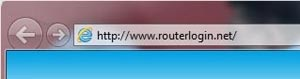 Enter the router IP into your web browser