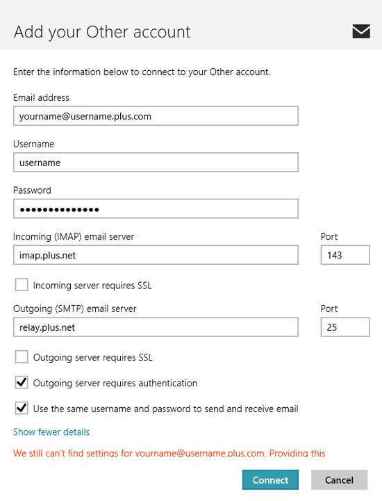 windows 10 email app