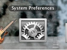Click the Apple menu and select System Preferences