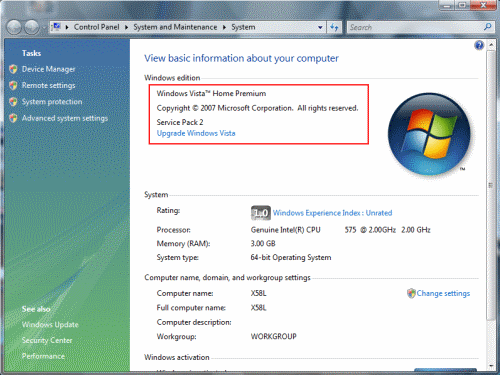 which version of Windows